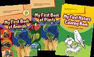 Covers of filam-ecograndma english edition kiddie books