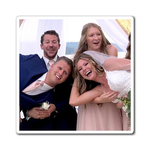 Sydney & Kade Wedding Laugh Magnets