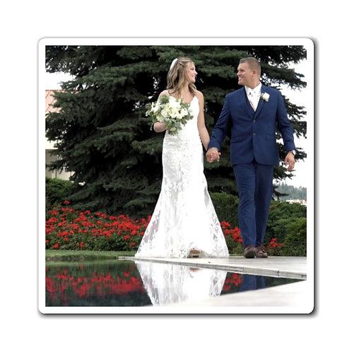 Sydney & Kade Wedding Walk Magnets