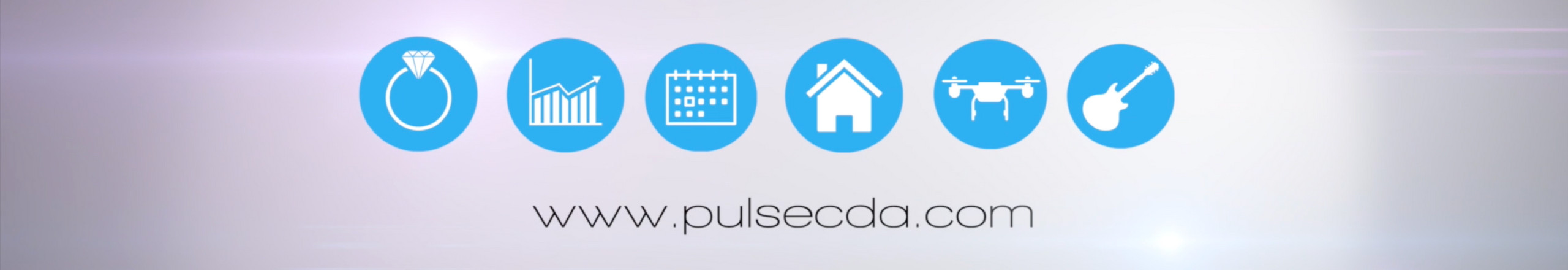 Pulse Productions Services Icons