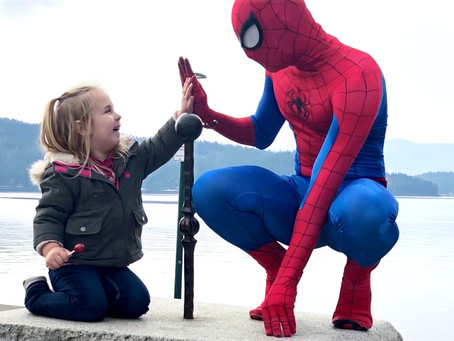 We Met Our Friendly Neighborhood Spiderman