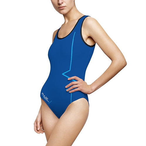 Pulse Productions Women's Classic One-Piece Swimsuit