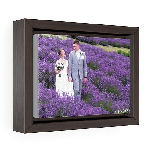 Victoria & Morgan Horizontal Framed Premium Gallery Wrap Canvas