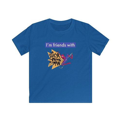 I'm friends with @cdaspiderman Kids Softstyle Tee