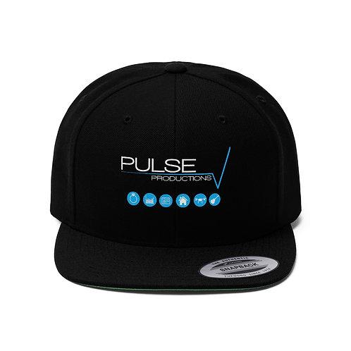 Pulse Productions Unisex Flat Bill Hat