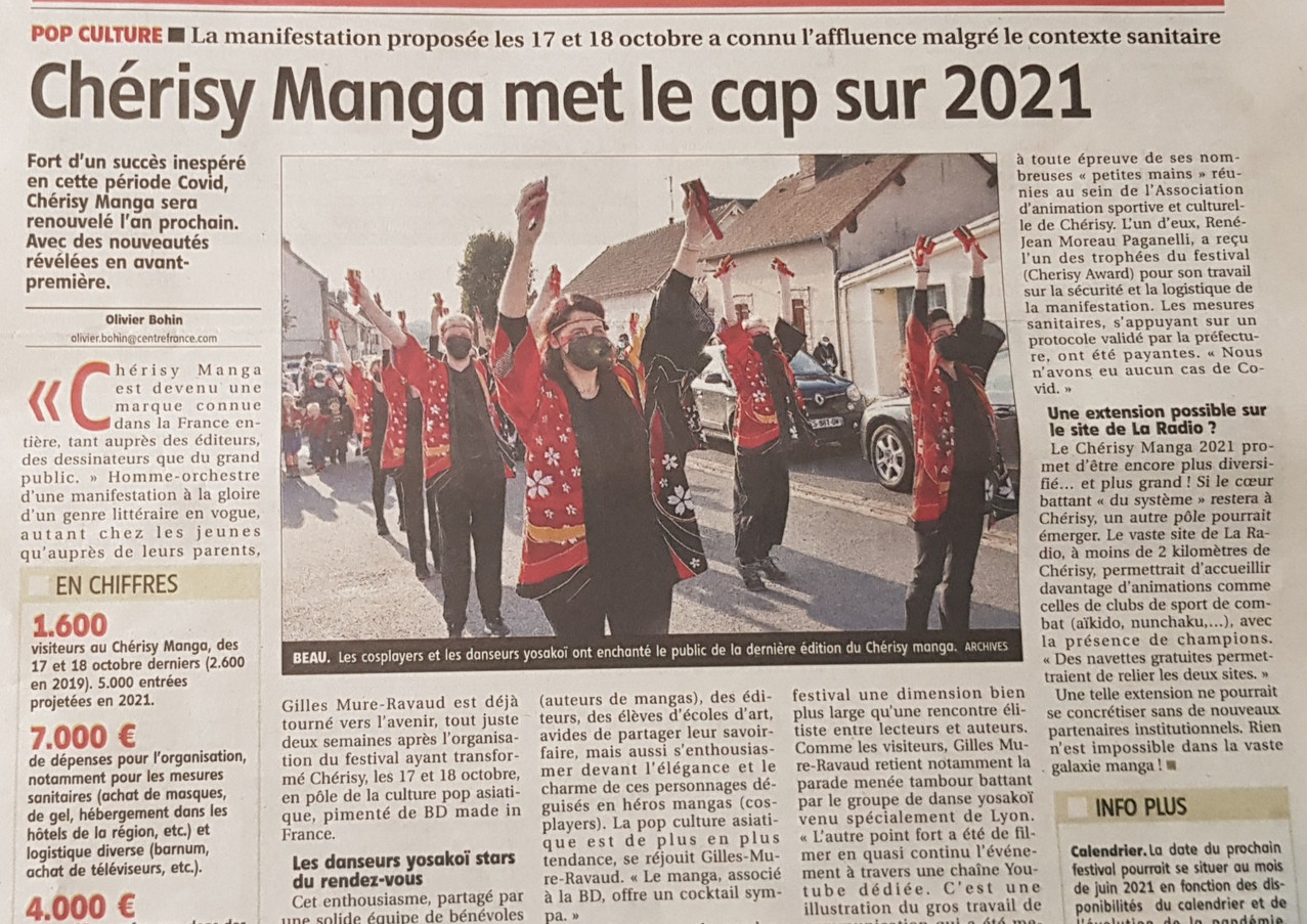 Article l_Echo-Republicain Bilan Chérisy