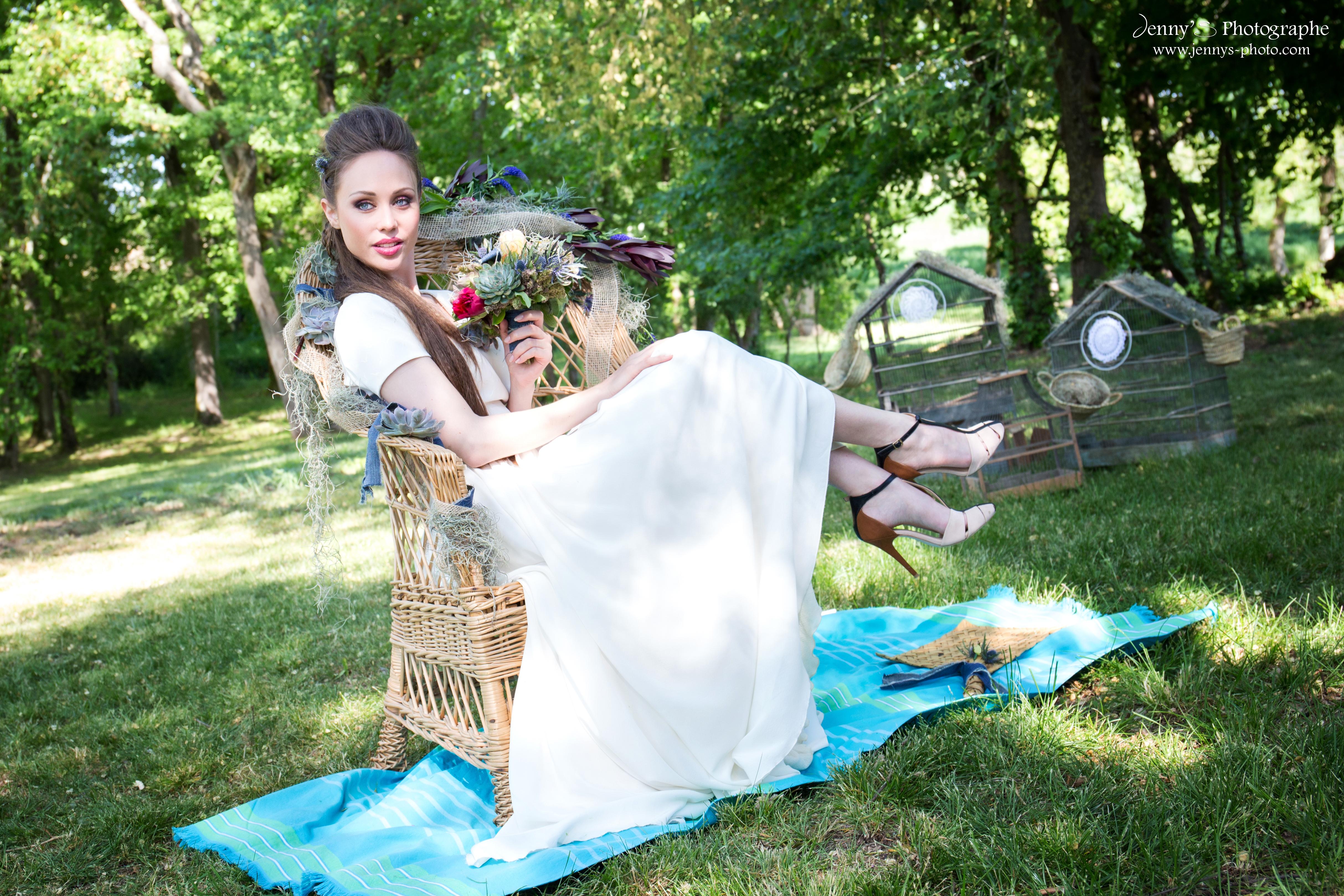 fauteuil pour mariée