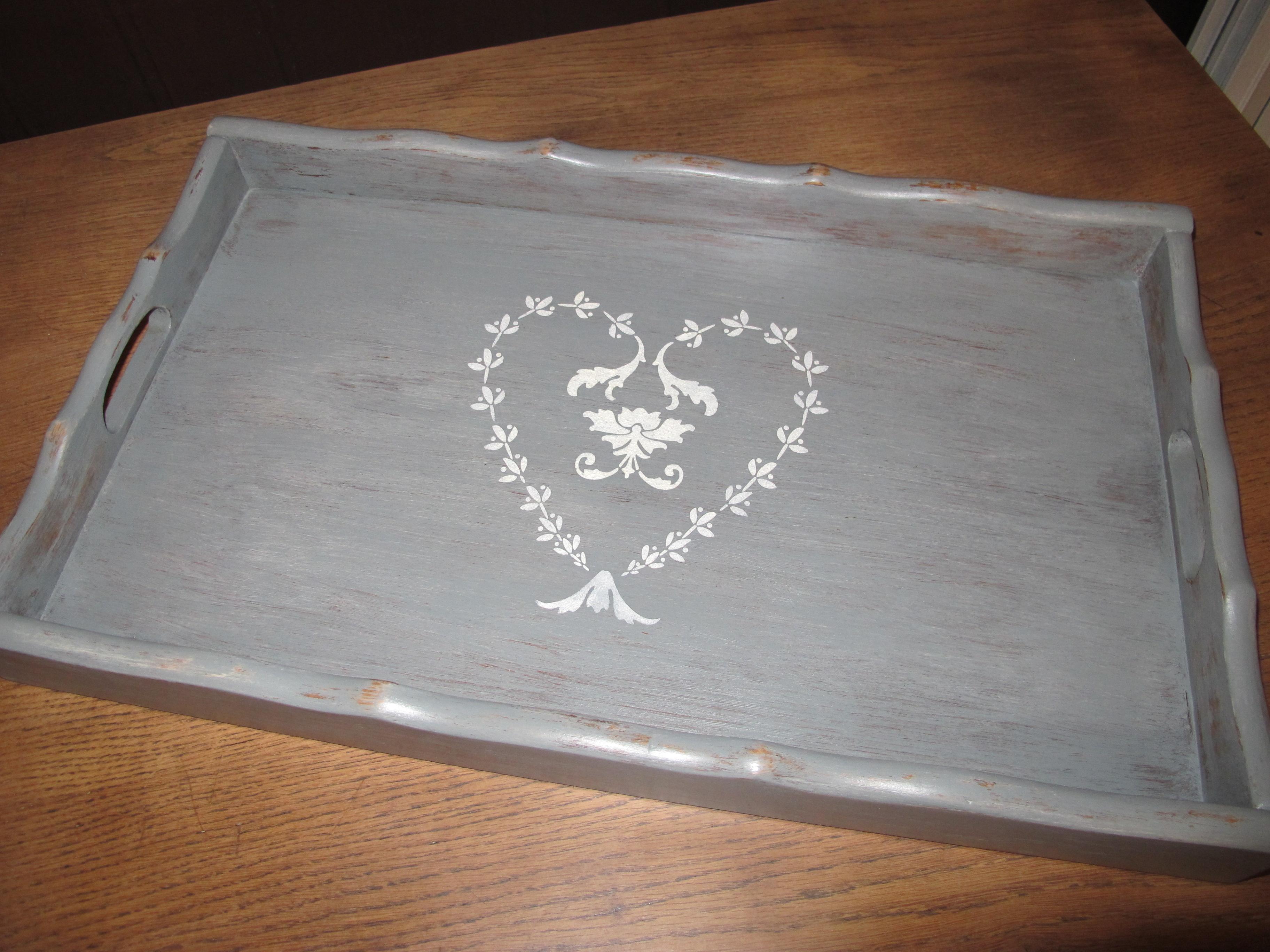 Plateau romantique gris gustavien