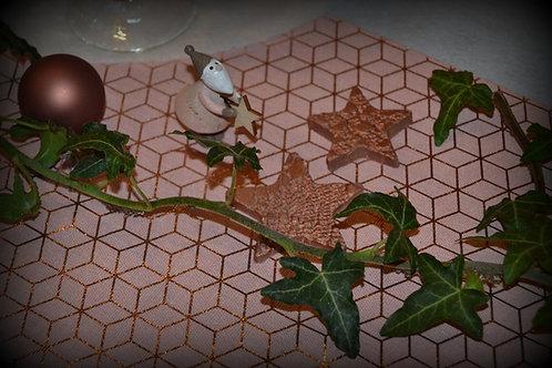 Figurine en terre cuite personnalisée - le thème de Noël