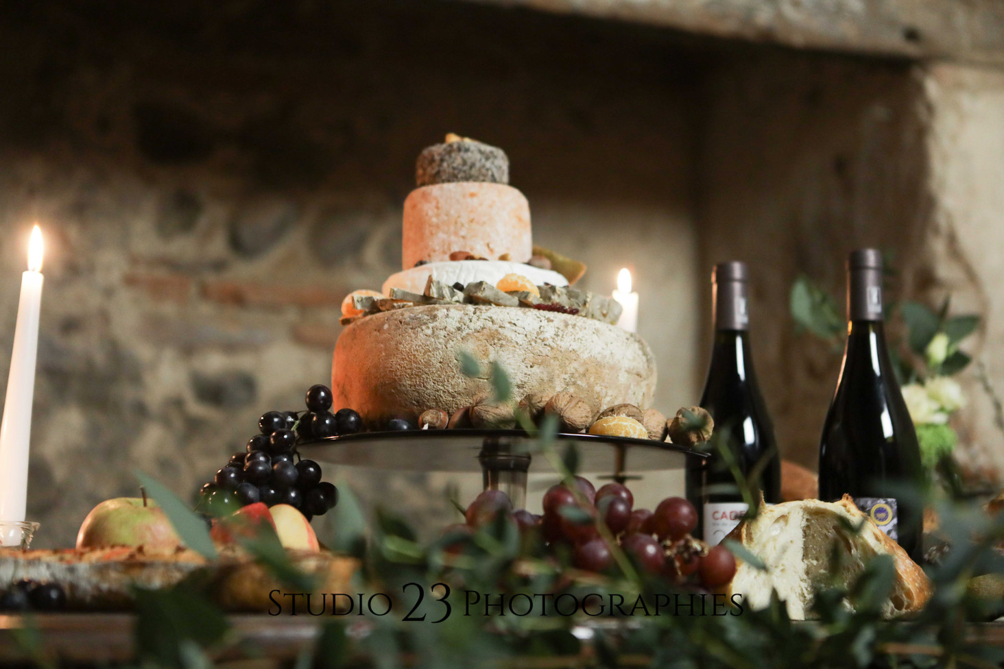 buffet de fromages