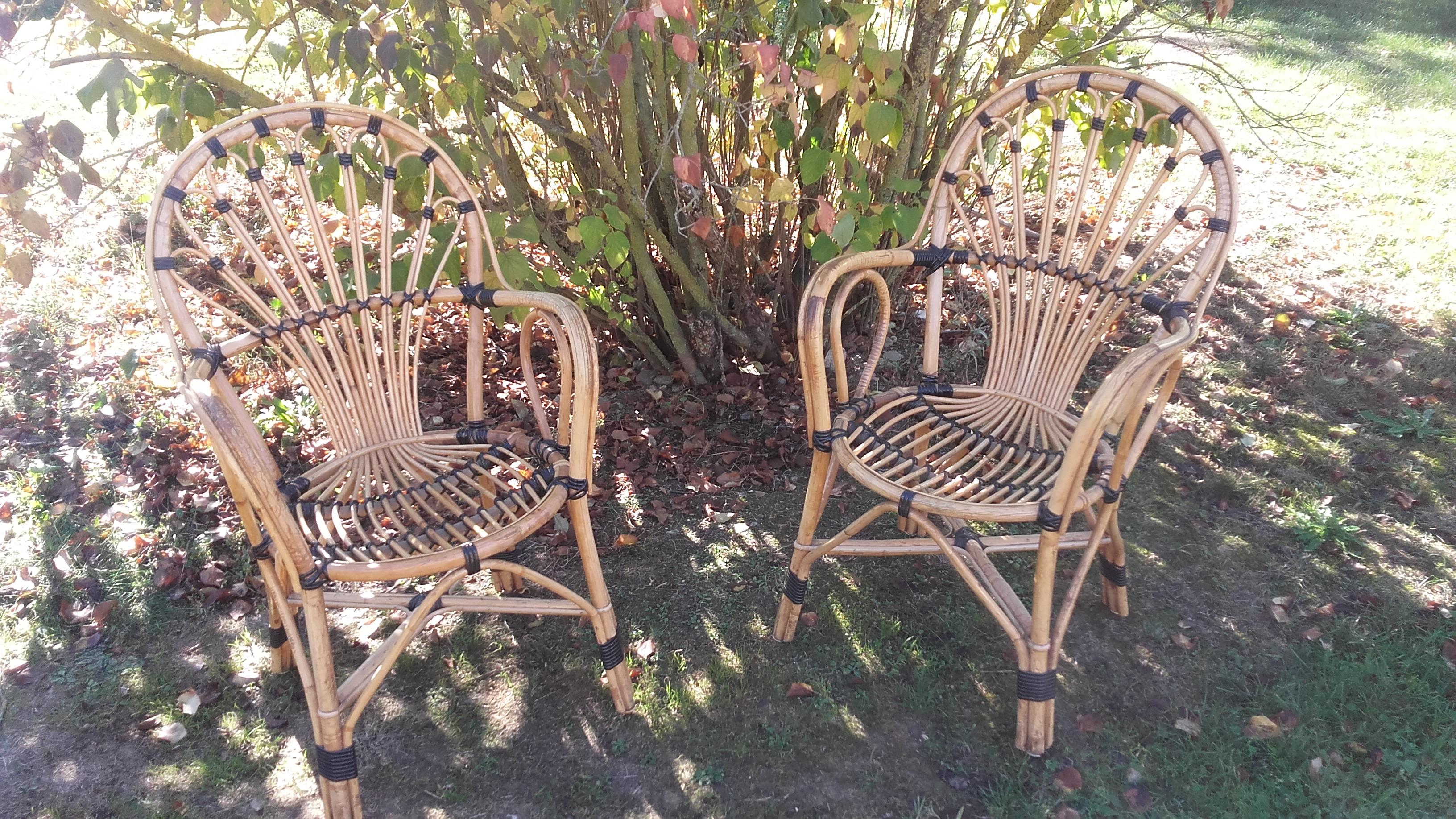 fauteuils osier