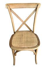 chaise_bistrot_bois_dos_croise_saint_rém