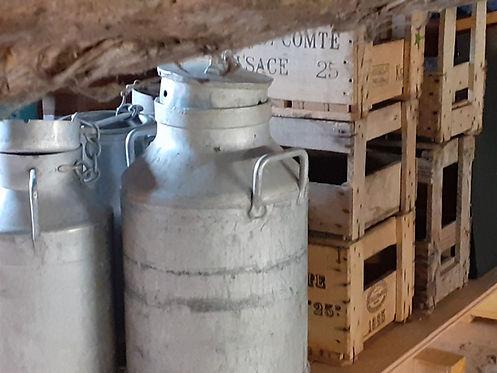 pots à lait