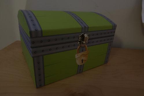 """Urne en carton """"coffre au trésor"""""""