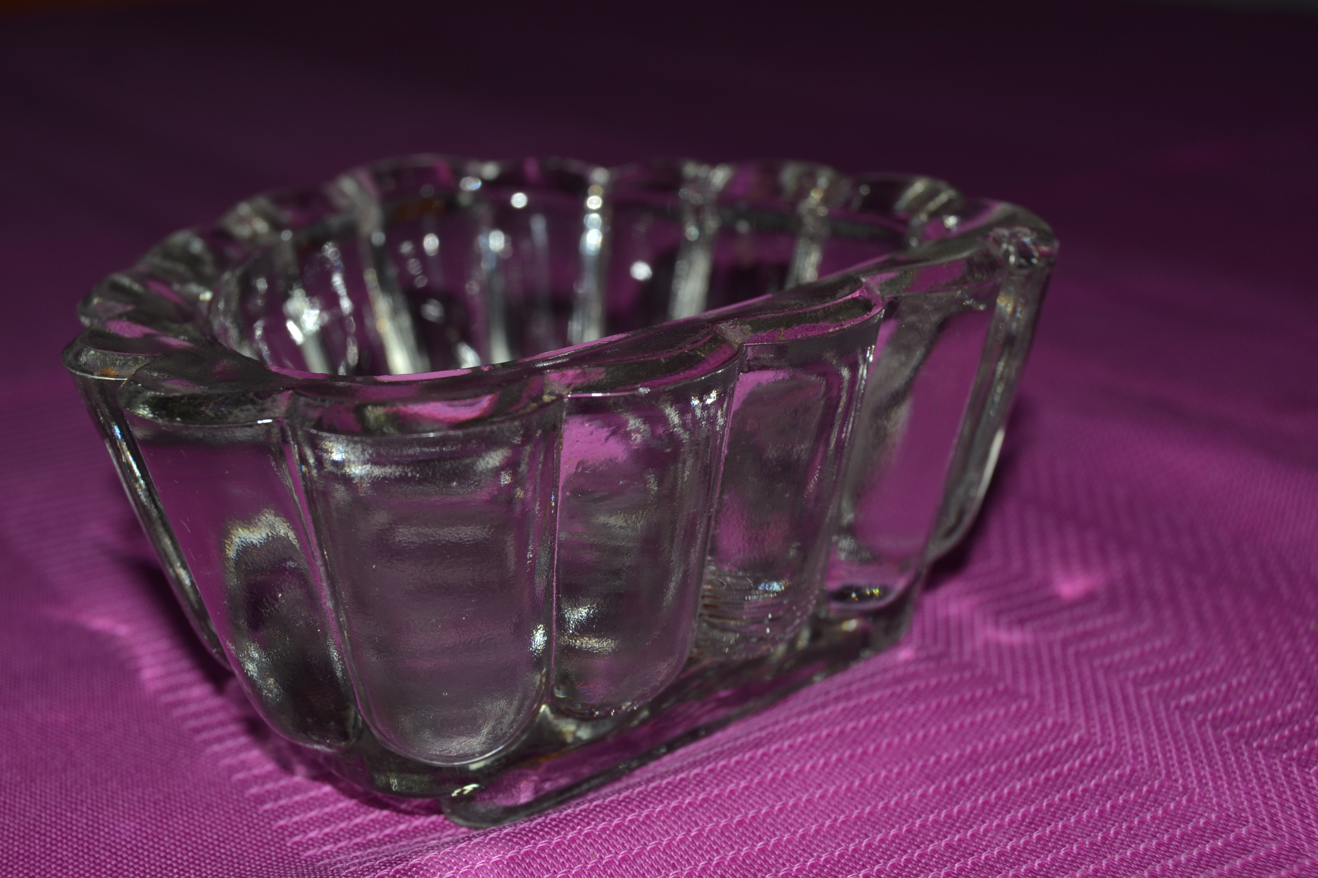 ramequin vintage en verre
