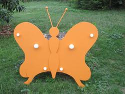 Grand porte manteaux papillon