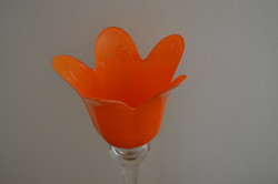 Vase tulipe vintage