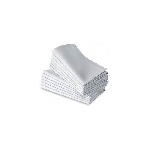Serviette de table en tissu blanche