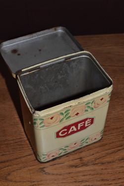 boite à café ancienne