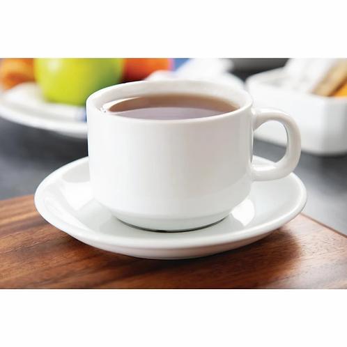 Tasse à café élégance blanche