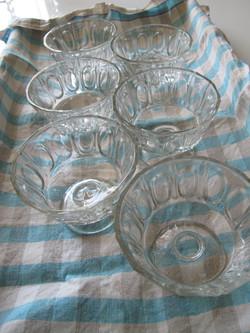 coupes à glace anciennes