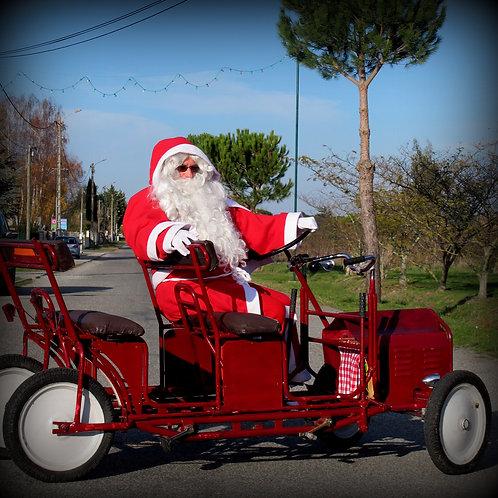 Le véhicule écologique du Père Noël
