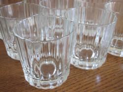Lot de 9 verres vintages