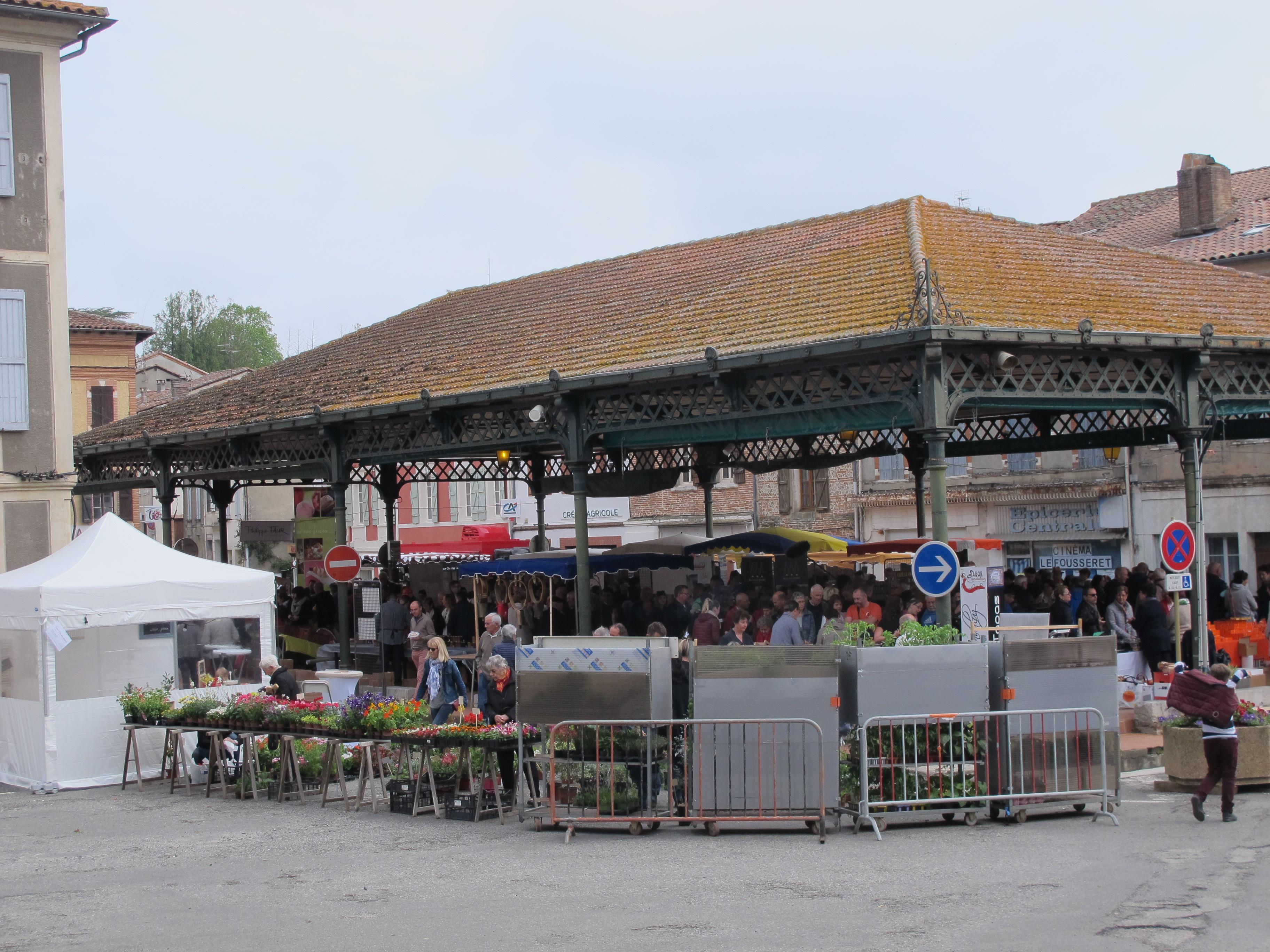 marché gourmand Le Fousseret