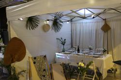 feuilles de palmier mariage