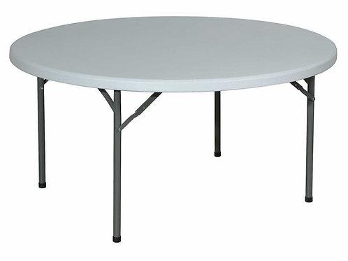 Table ronde diamètre 152 cm