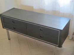 meuble TV effet métal