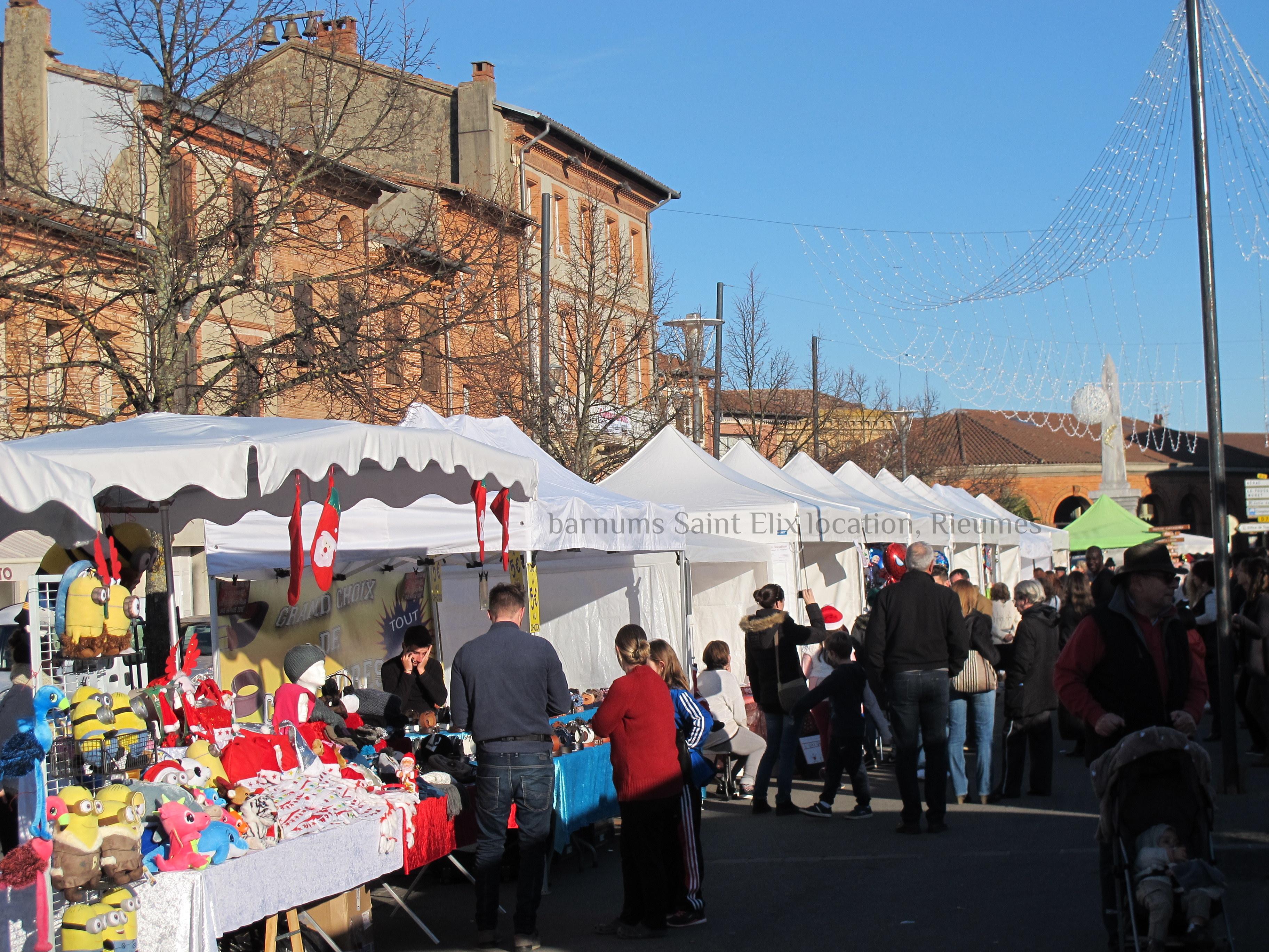 marché de Noël Rieumes