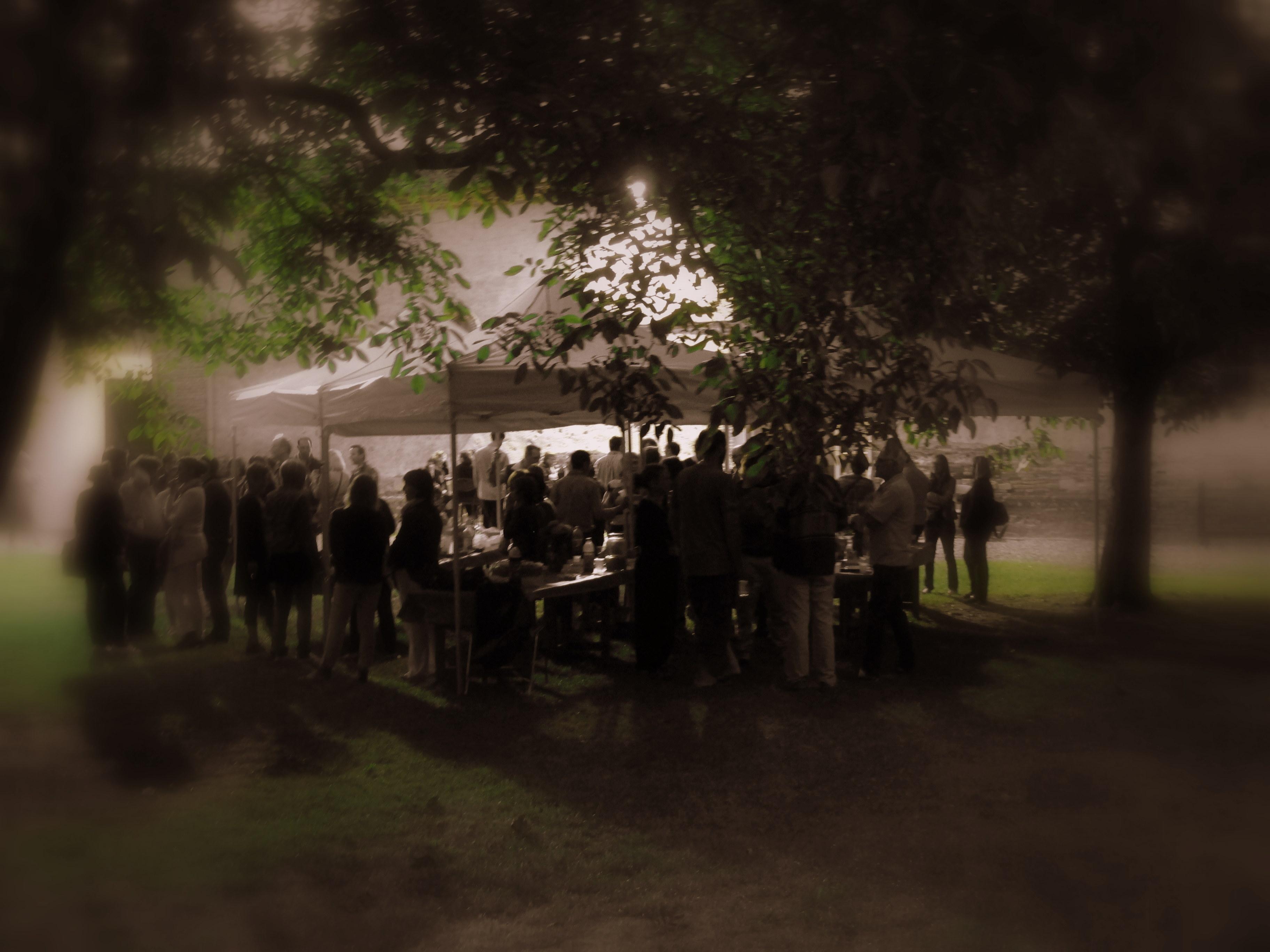 soirée en extérieur