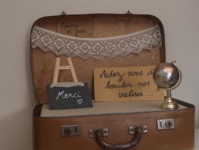 Réalisez une décoration sur le thème du voyage !
