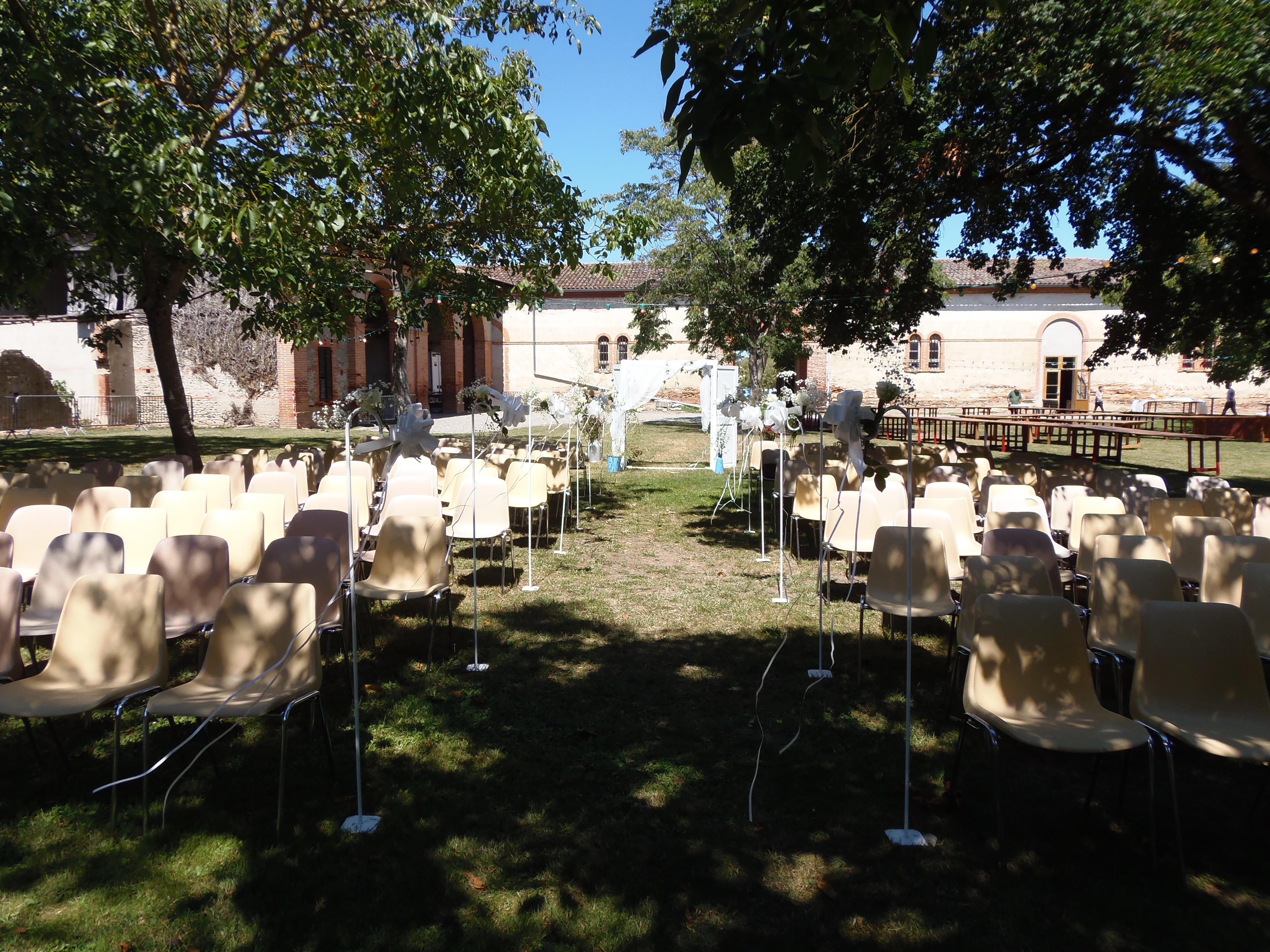 cérémonie laïque parc du pigeonnier