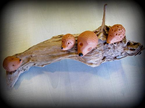 Figurine en terre cuite personnalisée - le thème de la nature