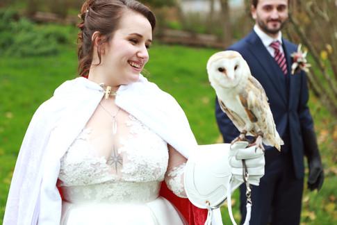 mariée harry potter