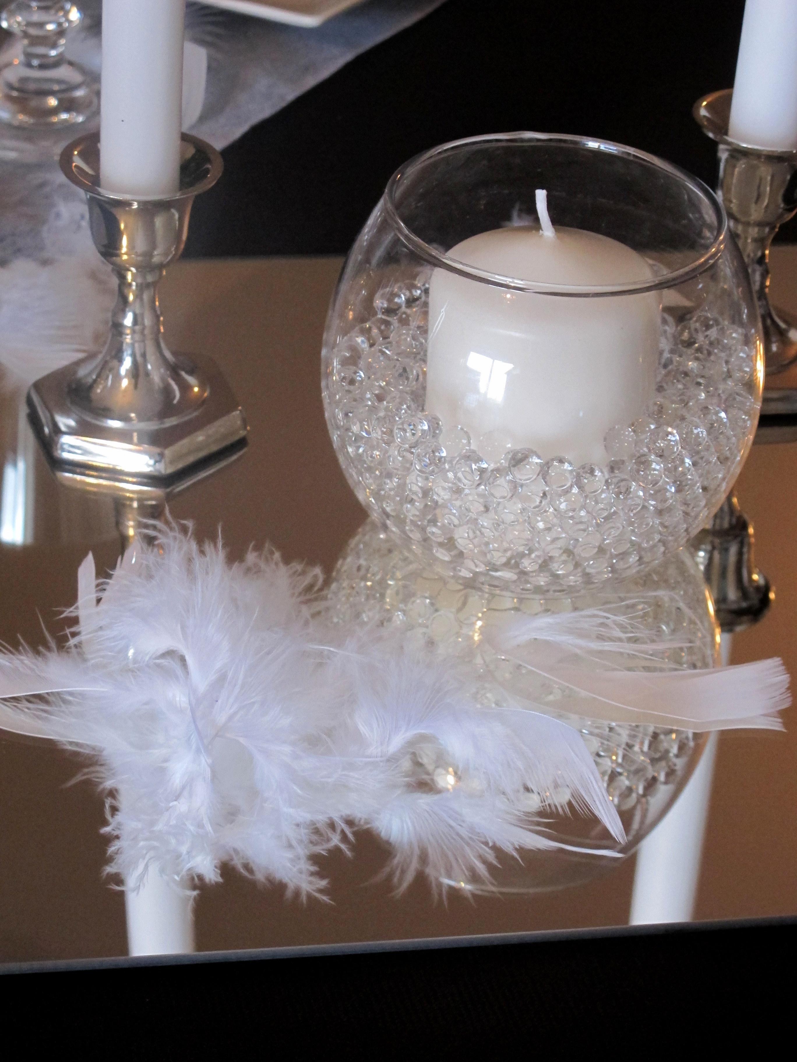 vase boule et perles
