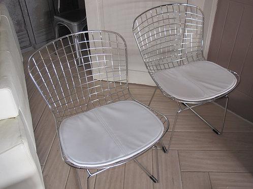 Paire de chaise Bertoia