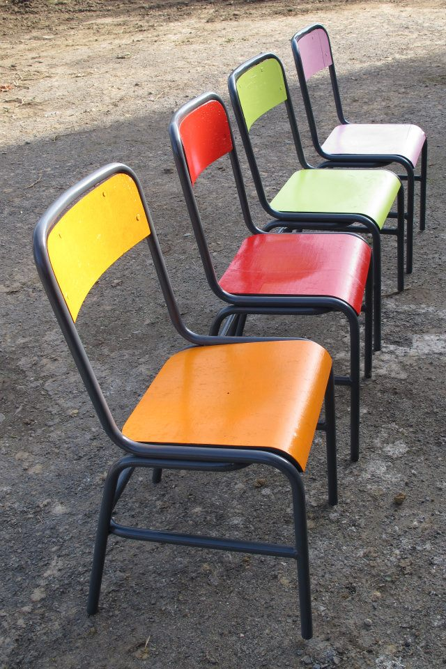 chaises pop