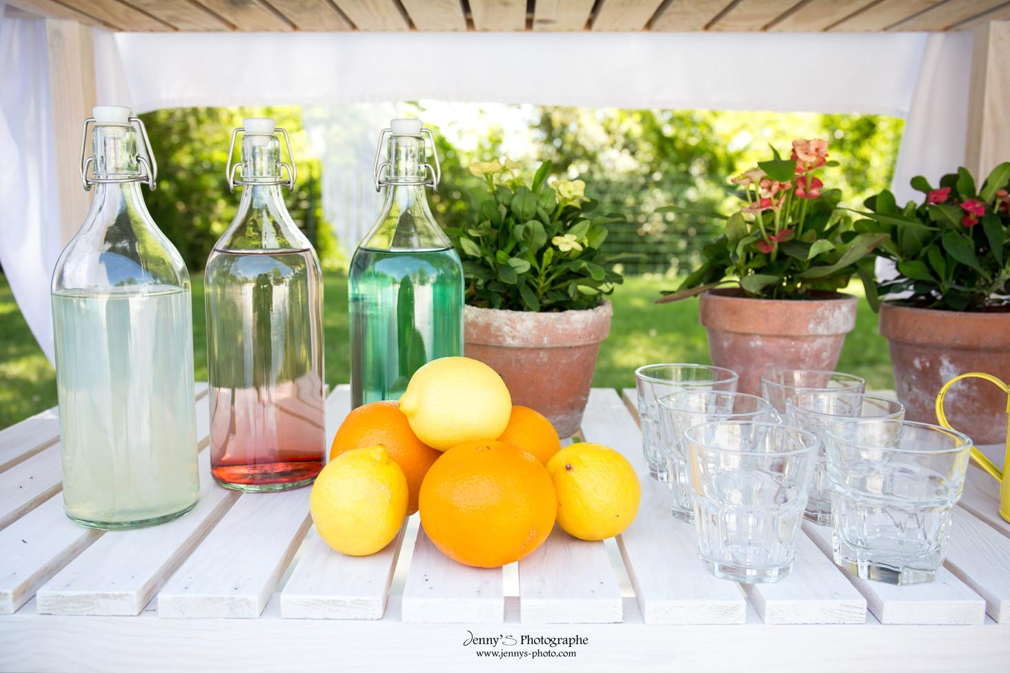 bouteilles à limonade