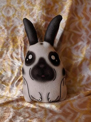 English spot bunny rabbit mini plush