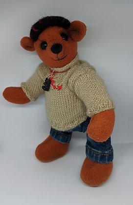 Fred OOAK bear