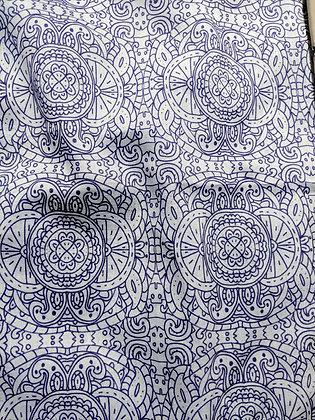 Purple henna fabric (limited edition)