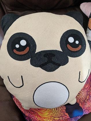 Custom Pug Plush pillow