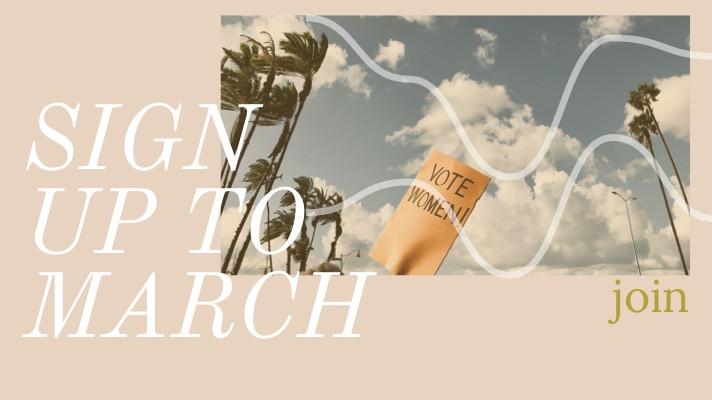 Women's March 2019 Prep Night