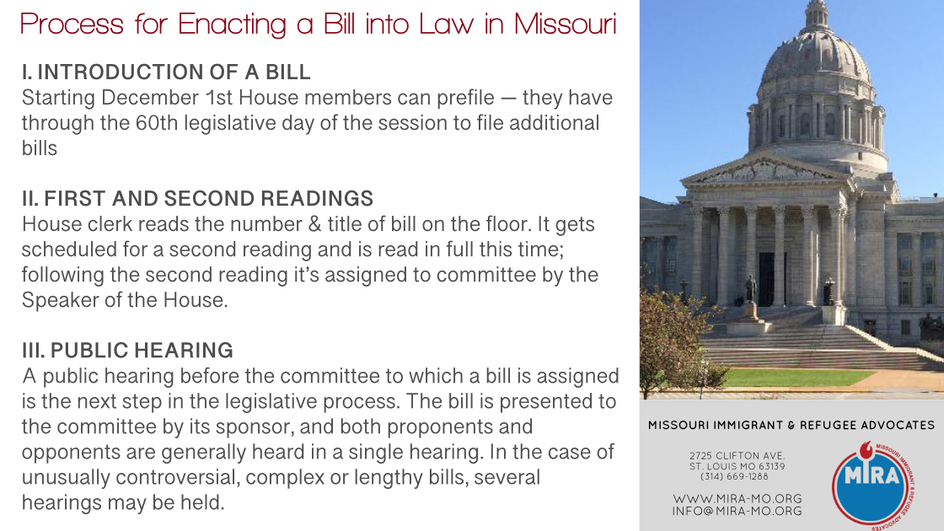 1. MO Bill Process Slide