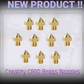 CR10s Pro brass nozzles now available! 🙌