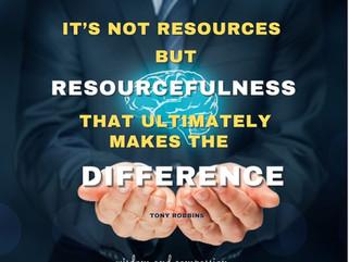 RESOURCEFULNESS VS. POWER