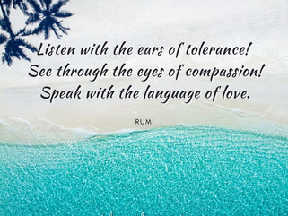 COMPASSION STARTS WITH DEEP LISTENING